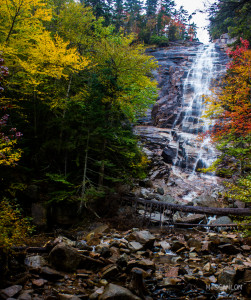 Arethusa Falls hiking trail