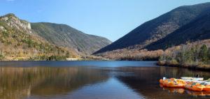 Places to Swim, Echo Lake, Franconia, NH