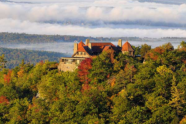 Castle in the Clouds in NH